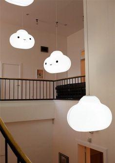 Kids Bedroom, Bedroom Decor, Kids Rooms, Bedroom Lighting, Entryway Decor, Deco Pastel, Cloud Lamp, Cloud Ceiling, Ceiling Lamps