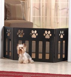 Paw Print Pet Cot or Gate. Starting at $18 on Tophatter.com!