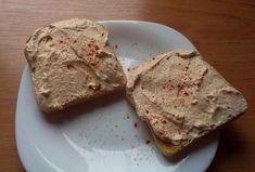 Tvarohová pomazánka levně Menu, Bread, Food, Menu Board Design, Brot, Essen, Baking, Meals, Breads