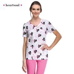 Love to Inspire Print Top