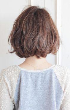 Pin on hair stuff Pin on hair stuff Short Wavy Hair, Girl Short Hair, Cut My Hair, Hair Cuts, Asian Bob Haircut, Short Bob Hairstyles, Curled Hairstyles, Neck Length Hair, Medium Hair Styles