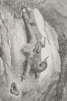 Le roi des montagnes #gallica #illustrator #illustrateur #doré Posters, Painting, Illustrations And Posters, Illustrator, Mountains, King, Painting Art, Poster, Paintings