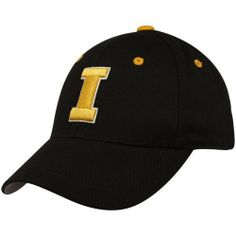 Iowa Hawkeyes Child One-Fit Hat by Top of the World. $12.91. Team color brushed cotton youth One-Fit hat. Secondary logo flat-stitched on the back. Patented One-Fit sizing. Tagless technology for a better fit. Primary 3D logo on embroidered on the front. wool. NCAA Iowa Hawkeyes Child One-Fit Hat. Save 14% Off!