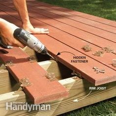 Are you looking for how to build floating deck plans step by step guide? I have here how to build floating deck plans guide you will love. Building A Floating Deck, Deck Building Plans, Floating Deck Plans, Floating Garden, Island Deck, Freestanding Deck, Ground Level Deck, How To Level Ground, Laying Decking