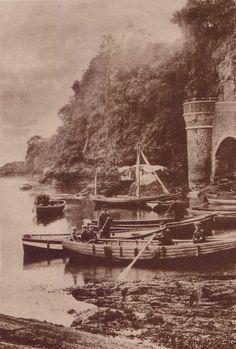 Cornwall, Looe Harbour.jpg (865×1280)