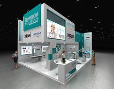 DANUBE - Exhibition Stand on Behance Exhibition Company, Exhibition Stall, Exhibition Stand Design, Adobe Photoshop, Expo Stand, Autodesk 3ds Max, Design Fields, Dubai, Behance