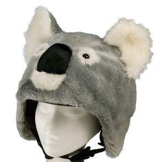 helmet covers by crazeeHeads. I love Kookie the Koala - his nose beeps too! Too bad I don't ride my bike in the cold, I think this'd be too hot over my helmet in the summer. (yeah, I'd wear one too - fits kids and adult helmets - set a good example!)