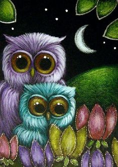 Google Image Result for http://www.ebsqart.com/Art/Gallery/Media-Style/685628/650/650/FANTASY-OWLS-in-TULIP-FLOWERS-GARDEN-2.jpg