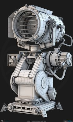 ArtStation - Killzone 3: Searchlight Concept, Ben Tate