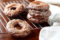 Old Sour Cream Cake Doughnuts 2 1/4 cups cake flour (plus more for rolling and cutting) 1 1/2 teaspoon baking powder 1 teaspoon salt 3/4 teaspoon ground nutmeg 1/2 cup sugar 2 tablespoons shortening 2 large egg yolks 2/3 cup sour cream canola oil for frying Directions Sift flour, baking powder, salt and nutmeg …
