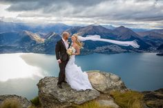 The Ledge Weddings Queenstown, Cecil Peak. A classic Queenstown wedding location with amazing views over the lake and the mountains of the Southern Alps. Wedding Tips, Wedding Photos, Budget Wedding, Wedding Reception, Wedding Planning, New Zealand Wedding Venues, New Zealand Destinations, New Zealand Landscape, Wedding Expenses