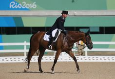 Michael Jung of Germany riding Sam Fbw competes in the Individual Dressage event on Day 1 of the Rio 2016 Olympic Games at the Olympic Equestrian Centre on August 6, 2016 in Rio de Janeiro, Brazil.