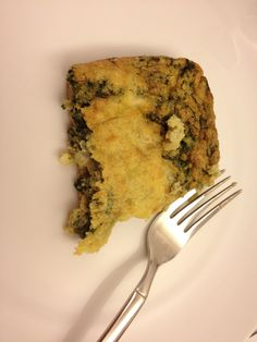 spinach quiche - very yummy breakfast