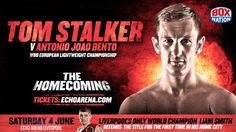 TOM STALKER vs ANTONIO BENTO Live Boxing Stream   They are already in its 32nd year of 2012 Team GB Boxing Olympic captain Thomas Stalker knows that the sand in the timer is running dangerously low as he strives to fulfill his dreams of lifting major titles in the professional code.  Among the most decorated But the Scouser based in Spain English fans won nine consecutive victories during its opening 17 months since opting to drill for payment in February 2013. However his arm raised in…