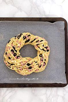Dare la forma di una corona - Ricetta Angelica salata