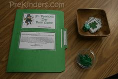 St. Patrick's Day path game  - I'm trying this out tomorrow!