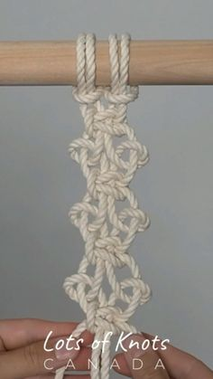 Square Knot, Half Hitch patterns! Find the full tutorial on my YouTube channel!