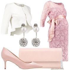 8ceb981bb3cf5 Cerimonia premaman con fiocco  outfit donna Bon Ton per cerimonia e serata  elegante