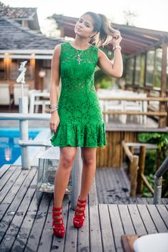 Meu look – Green!