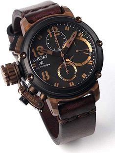 online shopping for U-Boat 8014 Chimera Bronze Chrono from top store. See new offer for U-Boat 8014 Chimera Bronze Chrono Stylish Watches, Luxury Watches For Men, Cool Watches, Bronze, Festina, Mens Designer Watches, Skeleton Watches, Boat Accessories, Beautiful Watches