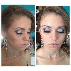 Prom makeup  by me!