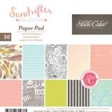 6 x 6 Paper Pad, PATTERNED PAPER | SUNDRIFTER Collection, by Studio Calico