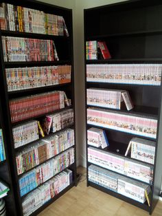 Manga collection in BILLY bookcase