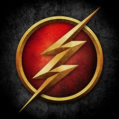 CW's The Flash logo<< Right, so the other day I wanted to sing the Flash theme song, so started: 'FLASH...' Then couldn't remember the rest of the words... Consequently I spent the next half an hour randomly yelling FLASH then giggling hysterically to myself...