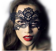 Black Lace Women Sexy Eye Mask Party Masks For Masquerade Halloween Venetian Costumes Carnival Mask For Anonymous Mardi Maske Halloween, Halloween Party Kostüm, Halloween Masquerade, Halloween Fancy Dress, Halloween Masks, Halloween Cosplay, Masquerade Costumes, Halloween Christmas, Masquerade Mask Makeup