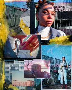 Remi Besse - Urban Collages of Paris – Fubiz Media Photography Collage, Creative Photography, Graphic Design Posters, Graphic Design Inspiration, Photoshop, Estilo Hip Hop, Photocollage, Photo Layouts, Zine