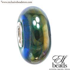 Elfbeads ocean oil Glass Bead