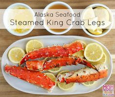 Follow this simple recipe to enjoy steamed King Crab Legs in minutes. Easy and healthy Wild Alaska Seafood recipe. #AskForAlaska