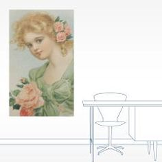Flowers And Romance For Every Girl 20x12 Wall Deca > Romantic Flower Girl > Sassy Countess