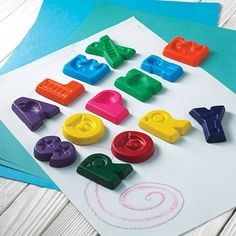 personalised name crayons by colour me fun | notonthehighstreet.com