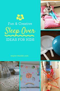 Sleepover's - More ideas — Wayne Wonder Children's Parties in Buckinghamshire, Berkshire, Hertfordshire, Oxfordshire