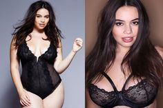 Gorgeous lingerie | ‎Riley Ticotin (USA) IG: @rileyticotin Source: Wilhelmina.com / Natural Model Management