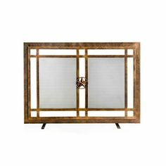 Shop for Ornamental Designs Belisario Brown Steel Fireplace Screen. Get free delivery On EVERYTHING* Overstock - Your Online Home Decor Outlet Store! Fireplace Tools, Fireplace Screens, Paneling, Steel Textures, Fireplace Accessories, Appliances Design, Fireplace Hearth, Fireplace, Fireplace Tool Set