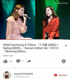 "Lets go for a long time. SNSD/Girls generation 9th anniversary somg ""Sailing 0805/that summer"" by Toffany and Sooyoung (@xolovestephi @hotsootuff ). Just two off them singing it live already make me cry how about all members sing it live  @hotsootuff @taeyeon_ss @seojuhyun_s @yulyulk @yoona__lim @xolovestephi @515sunnyday @watasiwahyo  Lyrics:  Memories etched between the passing seasons Among them I remember the first day that I saw you Your innocent laughter on a sunny summer day Did you…"