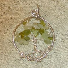 Tree of life necklacewire wrapped jewelry by WireWrapJewels