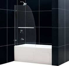 Exceptionnel Aqua Clear Glass Bathtub Door   Decoration Bathrooms   Pinterest   Glass  Bathtub, Bathtub Doors And Bathtubs