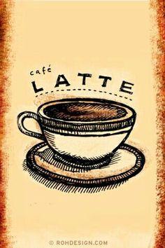 Café latte n_n
