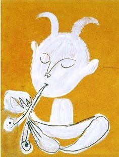 "Pablo Picasso, ""Faune Blanc"", 1946"