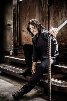 Norman Reedus (Daryl- The Walking Dead) The Boondock Saints, Daryl Twd, Daryl Dixon Walking Dead, Norman Reedus, Hollywood, Lady Gaga, Star Wars, Stuff And Thangs, Rick Grimes