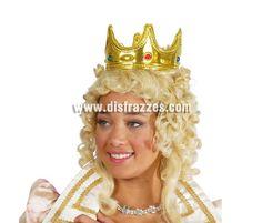 Corona Reina o Rey oro