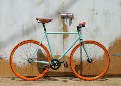 Matte Celeste | Mission Bicycle Company