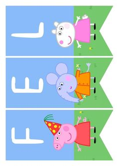 Pig Birthday, 2nd Birthday Parties, Cumple George Pig, Peppa Pig House, Peppa Pig Teddy, Cumple Peppa Pig, Pig Character, Pig Crafts, Funny Iphone Wallpaper
