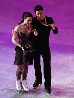 Tessa Virtue and Scott Moir at the 2013 World Figure Skating Championships