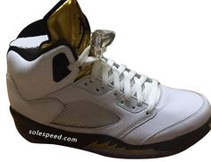 "01456dcb3334cc Air Jordan 5 ""Olympic Gold"" Jordan 5"