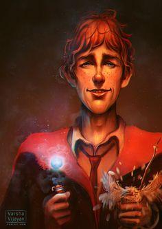 Ron Weasley by Varsha Vijayan