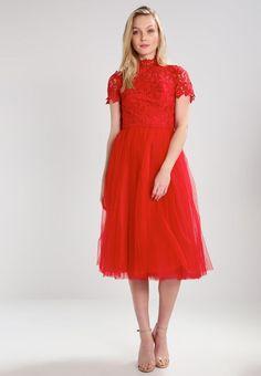 Chi Chi London Tall JOY - Cocktail dress / Party dress - red - Zalando.co.uk